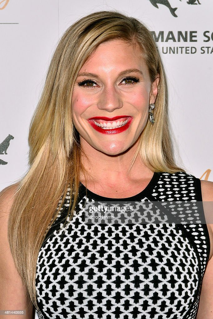 Katee Sackhoff attends the Humane Society of the United States 60th Anniversary Benefit Gala at The Beverly Hilton Hotel on March 29, 2014 in Beverly Hills, California.