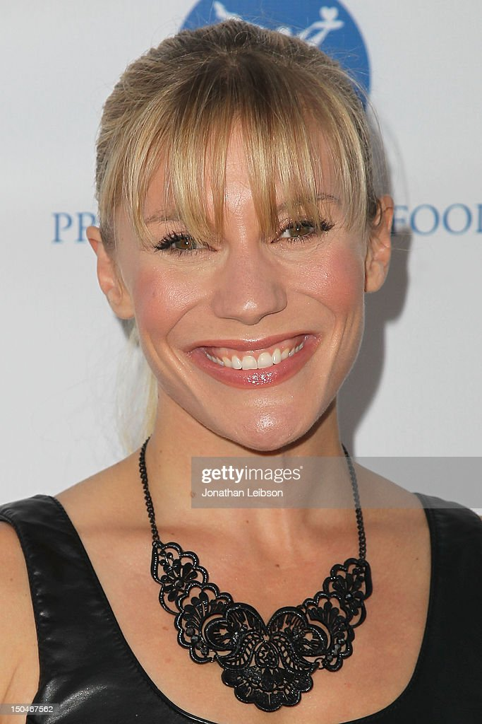 Katee Sackhoff attends the Project Angel Food's Annual Summer Soiree at Project Angel Food on August 18, 2012 in Los Angeles, California.
