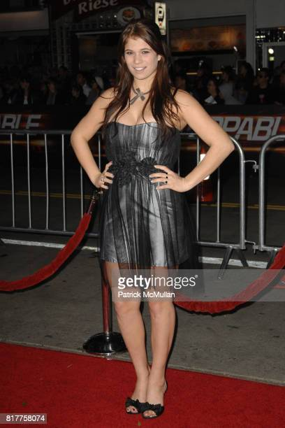 Katelyn Pippy attends UNSTOPPABLE World Premiere at Regency Village Theatre on October 26 2010 in Westwood California