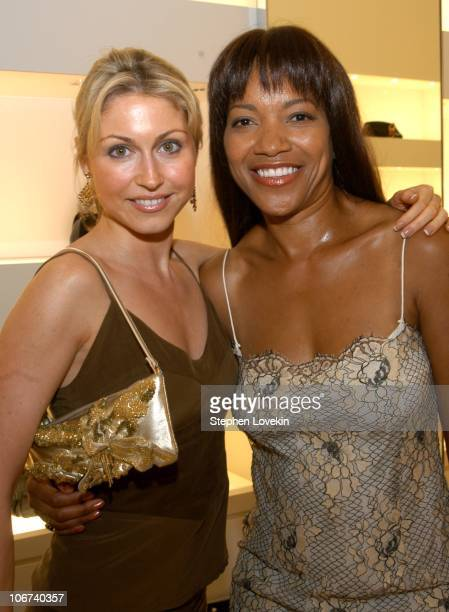 Katerina Frangenberg and Grace Hightower during Escada and Town and Country Celebrate The Mark Morris Dance Group Performance in The Mostly Mozart...