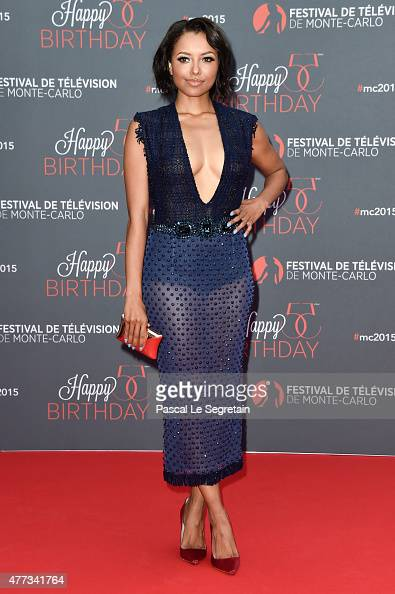 Katerina Graham attends the 55th Monte Carlo Beach anniversary as part of Monte Carlo TV Festival on June 16 2015 in MonteCarlo Monaco
