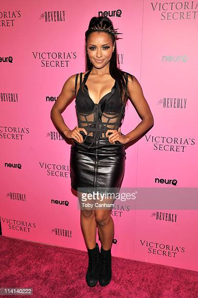 Katerina Graham attends the Victoria's Secret 'What is Sexy' list Bombshell Summer Edition launch party held at The Beverly on May 12 2011 in West...