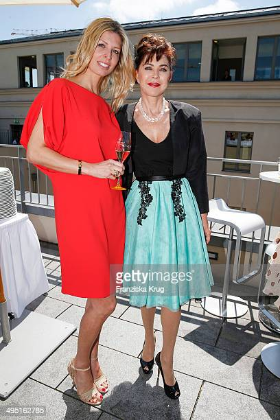 Katerina Schroeder and Anja Kruse attend 'Staatsoper fuer alle 2014' Open Air Concert on June 01 2014 in Berlin Germany