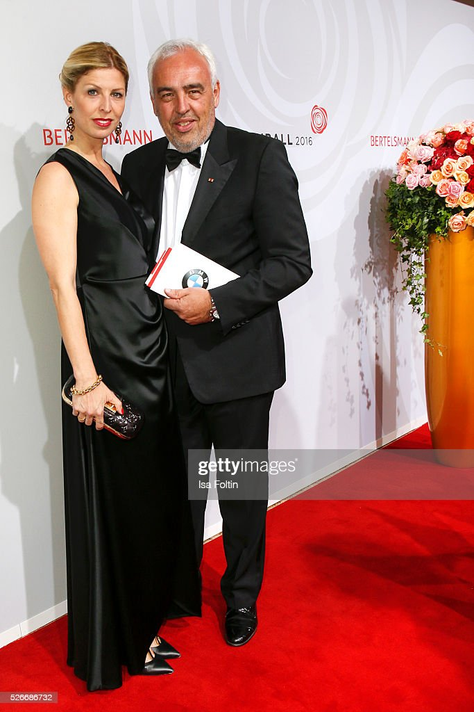 Katerina Schroeder and Hans-Reiner Schroeder attend the Rosenball 2016 on April 30, 2016 in Berlin, Germany.