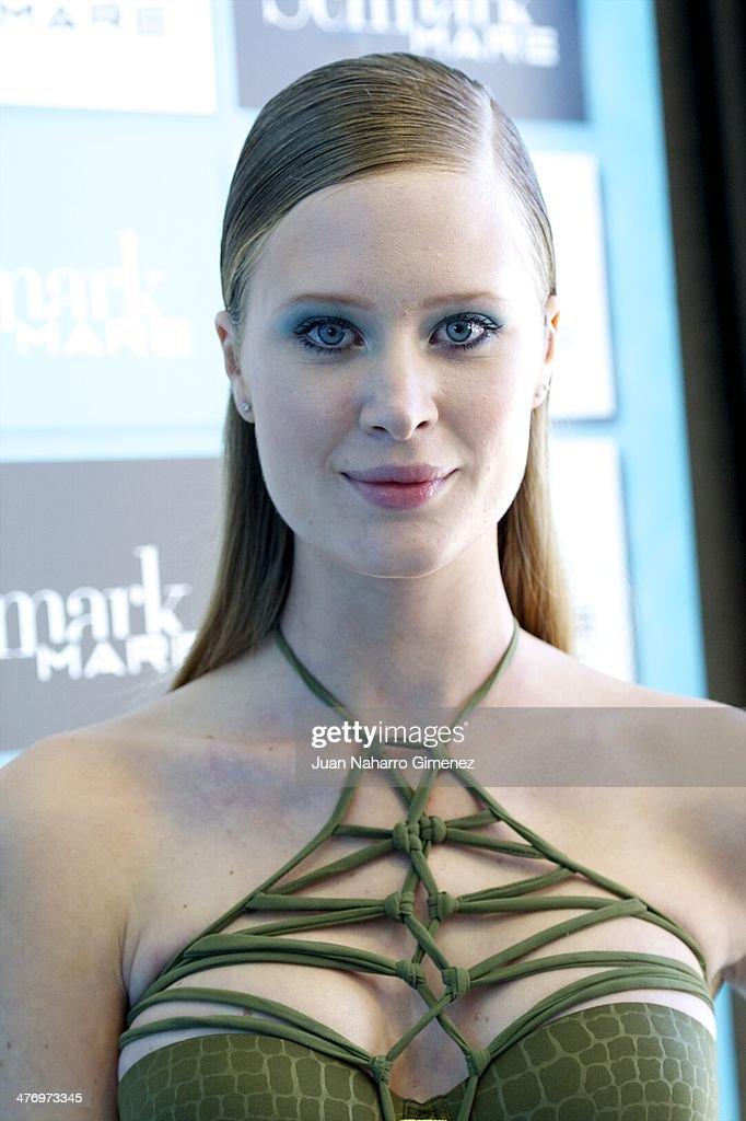 Katerina Strygina presents the new Selmark swimwear collection at Circulo de Bellas Artes on March 6, 2014 in Madrid, Spain.