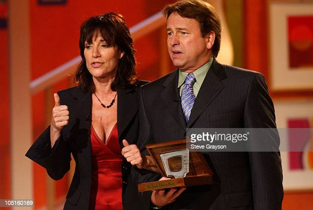 Katey Sagal and John Ritter accept the award for Best Comedy