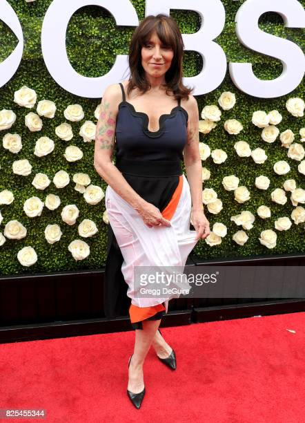 Katey Sagal arrives at the 2017 Summer TCA Tour CBS Television Studios' Summer Soiree at CBS Studios Radford on August 1 2017 in Studio City...