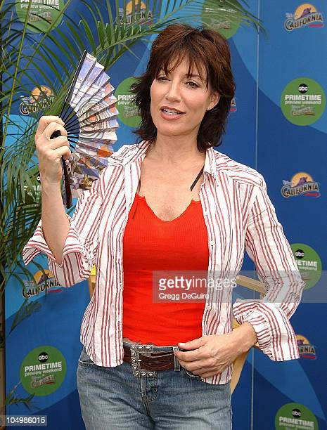 Katey Sagal during ABC Primetime Preview Weekend at Disney's California Adventure in Anaheim California United States