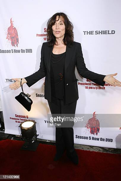 Katey Sagal during 'The Shield' Season 6 and Season 5 DVD Launch Party Arrivals at Cabana Club in Hollywood California United States