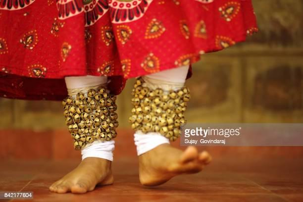 Kathak Dancer's Footwork