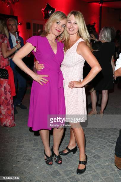 Katharina Abt and Dolly Zierl during the 'Audi Director's cut' Party during the Munich film festival at Praterinsel on June 24 2017 in Munich Germany