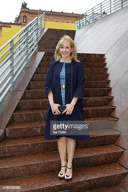 Katharina Abt attends the Montblanc De La Culture Arts Patronage Award 2015 on June 24 2015 in Hamburg Germany