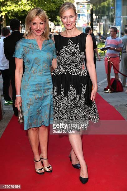 Katharina Abt Katja Weitzenboeck attend the Bavaria Film reception during the Munich Film Festival at Kuenstlerhaus am Lenbachplatz on June 30 2015...