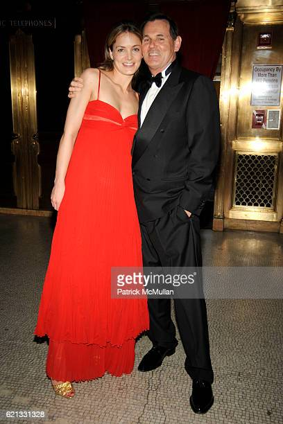 Katharina Harf and Bernd Beetz attend The 2nd Annual DKMS Linked Against Leukemia Gala at Capitale on May 7 2008 in New York City