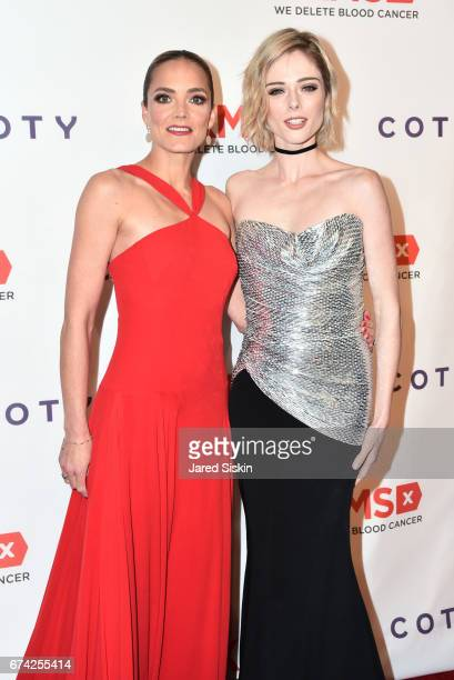Katharina Harf and Coco Rocha attend the 11th Annual DKMS Big Love Gala at Cipriani Wall Street on April 27 2017 in New York City