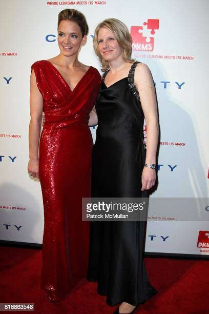 Katharina Harf and Monica Rash attend DKMS' 4th Annual Gala' LINKED AGAINST LEUKEMIA at Cipriani's 42nd St on April 29 2010 in New York City