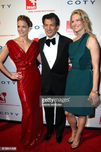 Katharina Harf Frederic Fekkai and attend DKMS' 4th Annual Gala' LINKED AGAINST LEUKEMIA at Cipriani's 42nd St on April 29 2010 in New York City