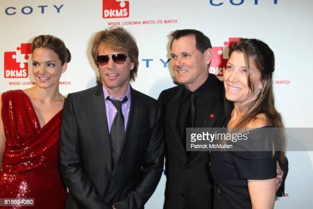 Katharina Harf Jon Bon Jovi Bernd Beetz and Doretha Bon Jovi attend DKMS' 4th Annual Gala' LINKED AGAINST LEUKEMIA at Cipriani's 42nd St on April 29...