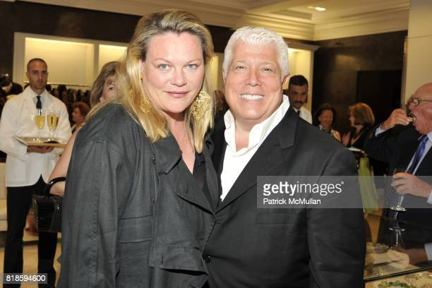 Katharina OttoBernstein and Dennis Basso attend Book Party for THE SUMMER WE READ GATSBY by Danielle Ganek at Dennis Basso on June 2 2010 in New York...