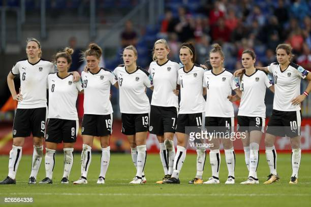 Katharina Schiechtl of Austria women Nadine Prohaska of Austria women Verena Aschauer of Austria women Virginia Kirchberger of Austria women Carina...