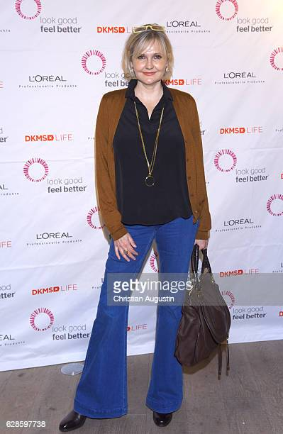 Katharina Schubert attends the DKMS Life Charity Ladies Lunch at Hensslers Kueche on December 8 2016 in Hamburg Germany