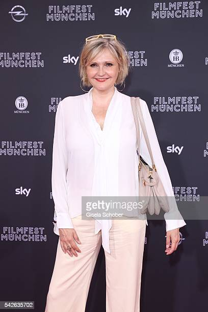 Katharina Schubert during the opening night of the Munich Film Festival 2016 at Mathaeser Filmpalast on June 23 2016 in Munich Germany
