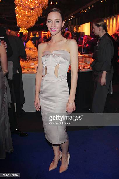 Katharina Schuettler attends the after show party of Goldene Kamera 2014 Hangar 7 at Tempelhof Airport on February 1 2014 in Berlin Germany