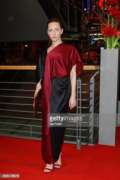 Katharina Schuettler attends the Closing Ceremony of the 65th Berlinale International Film Festival on February 14 2015 in Berlin Germany