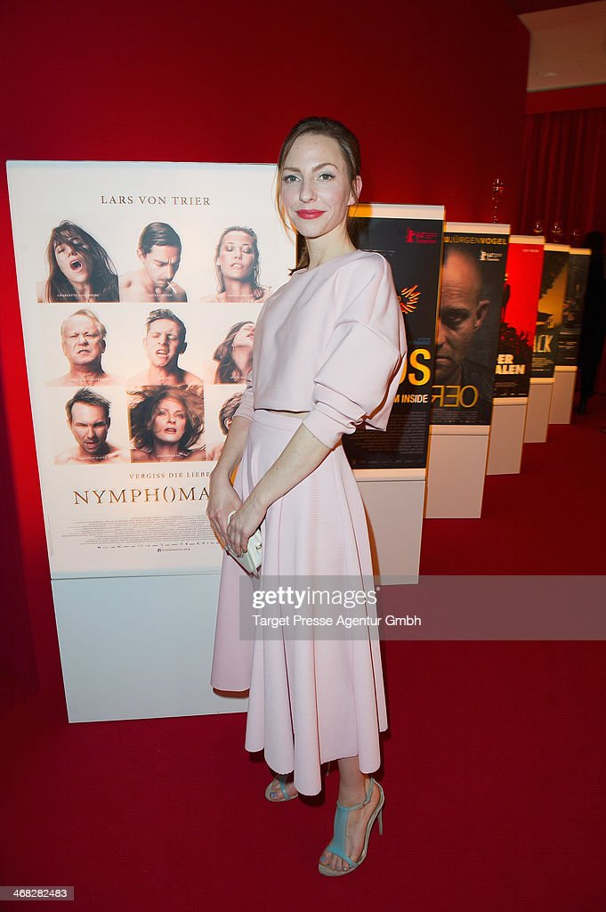 Katharina Schuettler attends the NRW Reception at the Landesvertretung on February 9, 2014 in Berlin, Germany.
