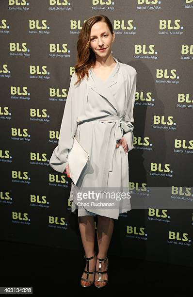Katharina Schuettler attends the South Tyrol Reception during the 65th Berlinale International Film Festival on February 10 2015 in Berlin Germany