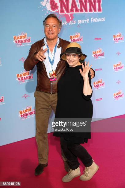 Katharina Thalbach and Nico Hofmann during the premiere of the film 'Hanni Nanni Mehr als beste Freunde' at Kino in der Kulturbrauerei on May 14 2017...