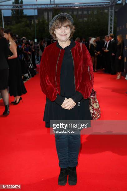 Katharina Thalbach attends the UFA 100th anniversary celebration at Palais am Funkturm on September 15 2017 in Berlin Germany