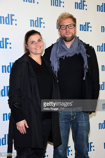Katharina Wackernagel and Henning Bohm attend the 'Der IslandKrimi Der Tote im Westfjord' premiere at Astor Film Lounge on October 13 2016 in Berlin...