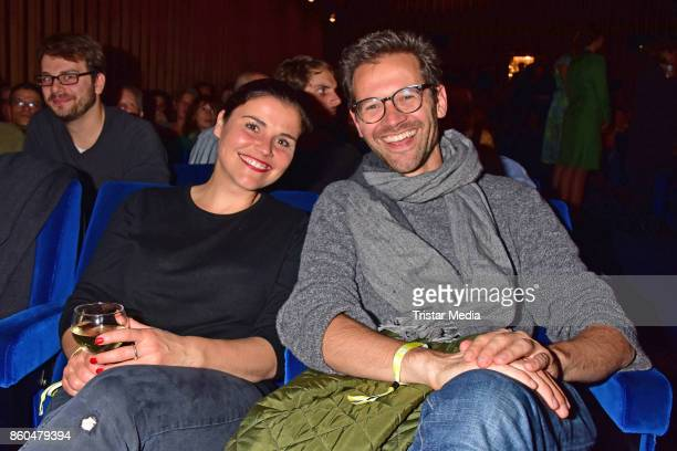 Katharina Wackernagel and Jonas Grosch attend the 'Vorwaerts immer' premiere at Kino International on October 11 2017 in Berlin Germany