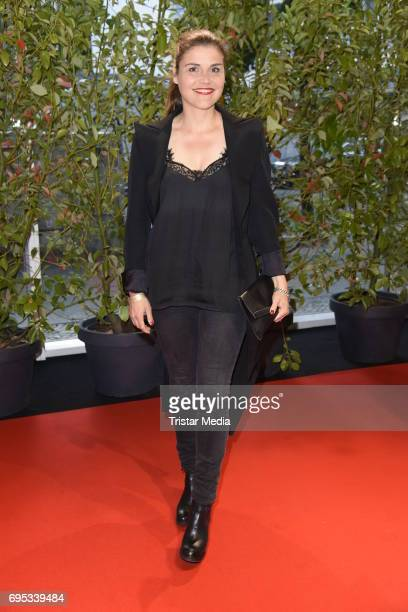 Katharina Wackernagel attends the Cocktail prolonge to the SemiFinal Round Of Judging Of The International Emmy Awards 2017 on June 12 2017 in Berlin...
