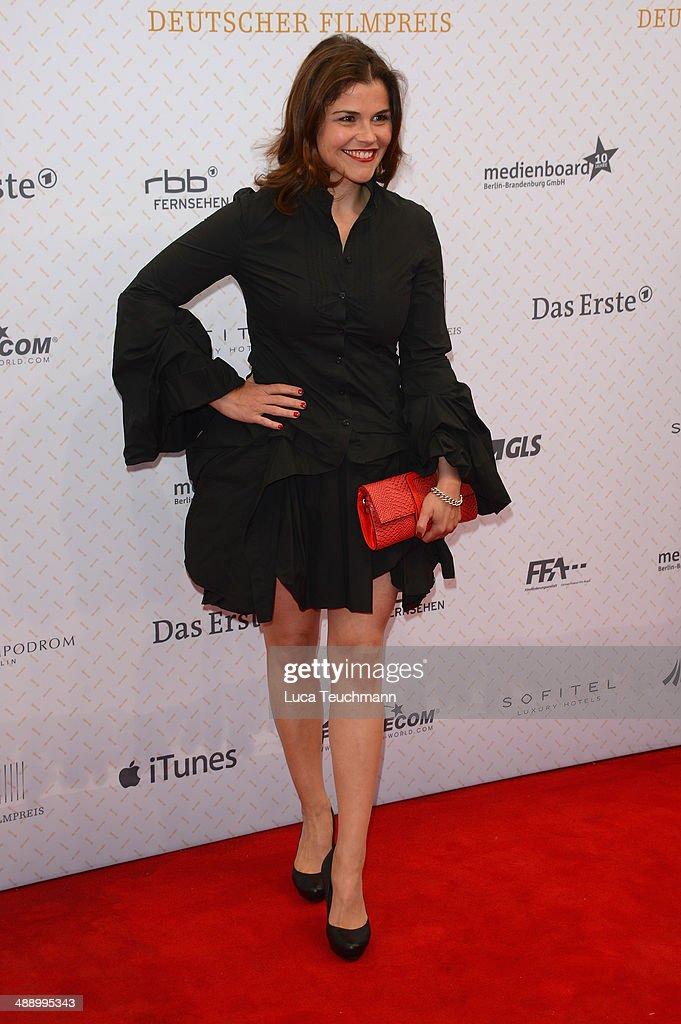 Katharina Wackernagel attends the Lola - German Film Award 2014 at Tempodrom on May 9, 2014 in Berlin, Germany