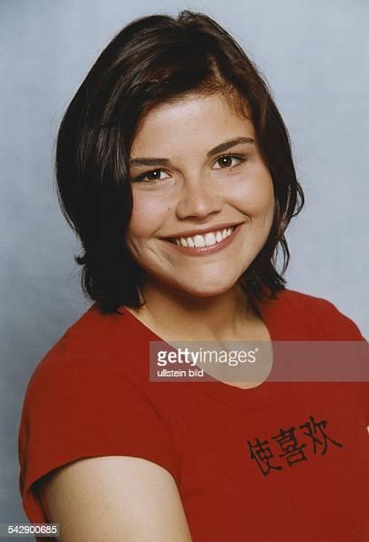 Katharina Wackernagel spielt in der TVSerie 'Tanja' Aufgenommen August 1999