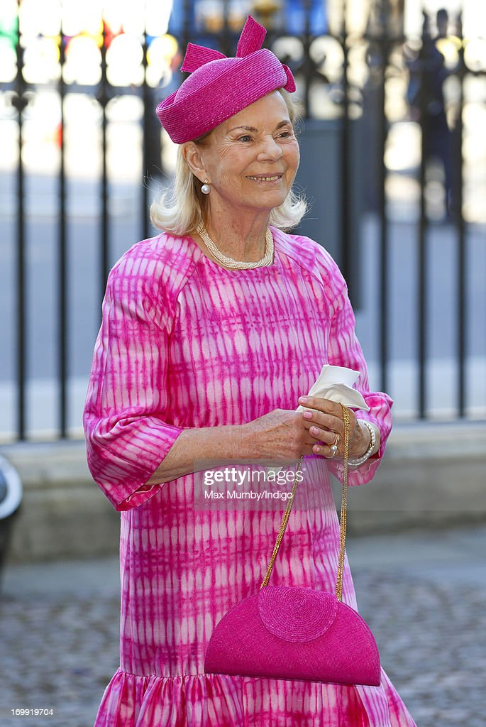 Katharine, Duchess of Kent attends a service of celebration to mark the 60th anniversary of the Coronation of Queen Elizabeth II at Westminster Abbey on June 4, 2013 in London, England. The Queen's Coronation took place on June 2, 1953 after a period of mourning for her father King George VI, following her ascension to the throne on February 6, 1952. The event 60 years ago was the first time a coronation was televised for the public.