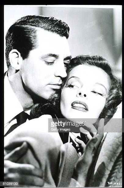 Katharine Hepburn Appears With Actor Cary Grant In The Film 'Bringing Up Baby' In USA Actress Hepburn Won Four Of Twelve Oscar Nominations For Best...