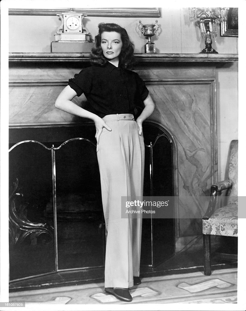 <a gi-track='captionPersonalityLinkClicked' href=/galleries/search?phrase=Katharine+Hepburn&family=editorial&specificpeople=203012 ng-click='$event.stopPropagation()'>Katharine Hepburn</a> in a scene from the film 'The Philadelphia Story', 1940.