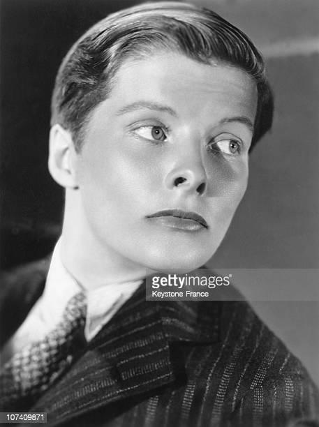 Katharine Hepburn In The Movie Sylvia Scarlett By George Cukor In 1935