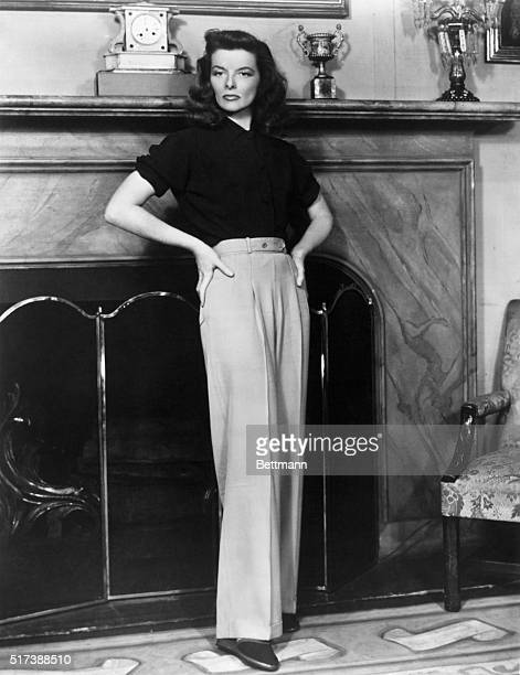 Katharine Hepburn in the stage version of 'The Philadelphia Story' Photograph 1930's