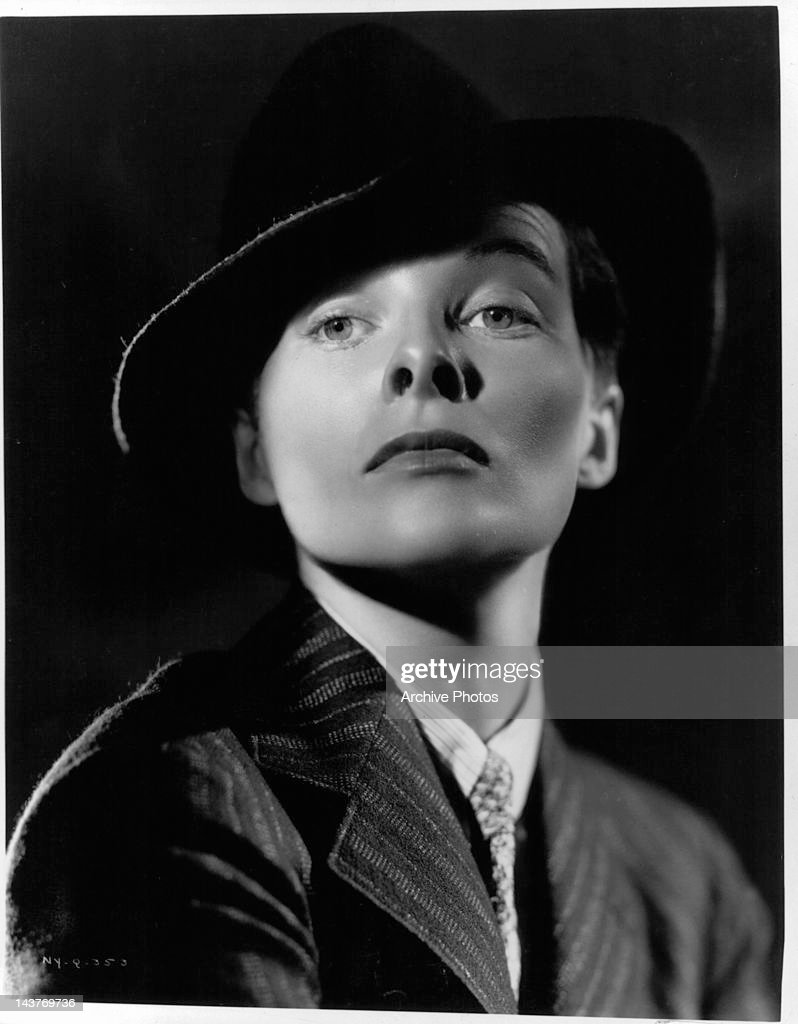 <a gi-track='captionPersonalityLinkClicked' href=/galleries/search?phrase=Katharine+Hepburn&family=editorial&specificpeople=203012 ng-click='$event.stopPropagation()'>Katharine Hepburn</a> publicity portrait for the film 'Sylvia Scarlet', 1935.