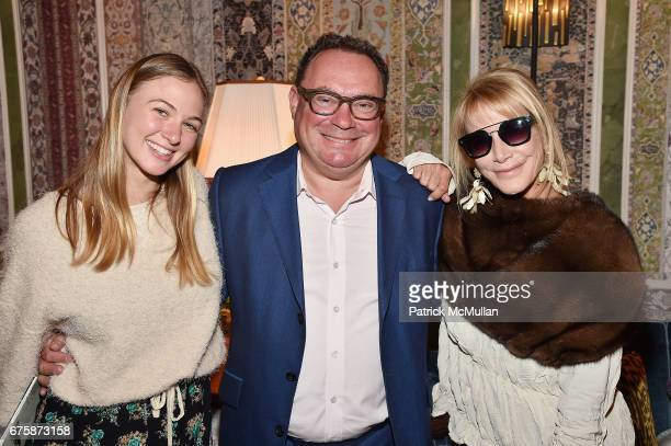 Katharine Jaensch Paul Kasmin and Lisa Jackson attend Richard Mishaan's 'Well Traveled Room' at the Kips Bay Boys and Girls House Show House Opening...