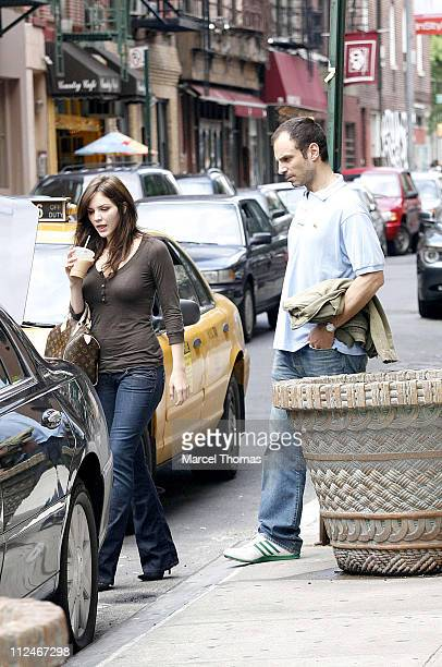 Katharine McPhee and Nick Cokas during Katharine McPhee Sighting in SoHo at SoHo in New York City New York United States