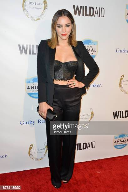 Katharine McPhee arrives at 'Evening With WildAid' at the Beverly Wilshire Four Seasons Hotel on November 11 2017 in Beverly Hills California