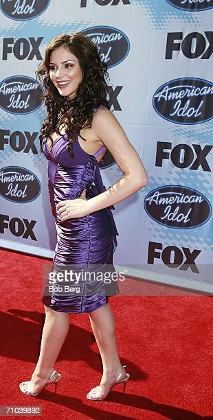 HOLLYWOOD May 24 Katharine McPhee arrives at the American Idol Season 5 Finale on May 24 2006 at the Kodak Theater in Hollywood California