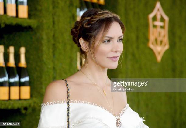 Katharine McPhee at the Eighth Annual Veuve Clicquot Polo Classic on October 14 2017 in Los Angeles California