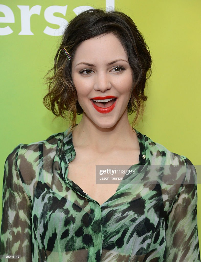 Katharine McPhee attends NBCUniversal's '2013 Winter TCA Tour' Day 1 at Langham Hotel on January 6, 2013 in Pasadena, California.