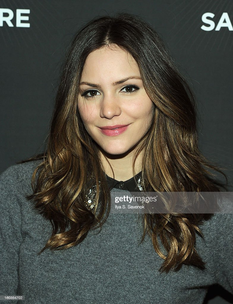 Katharine McPhee attends No Diggity, No Doubt: Beck's Sapphire Pops Up To Celebrate Super Bowl on January 29, 2013 in New York City.